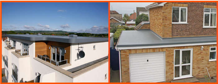 GRP Flat Roofing Systems St Albans, Hertfordshire - Example Image