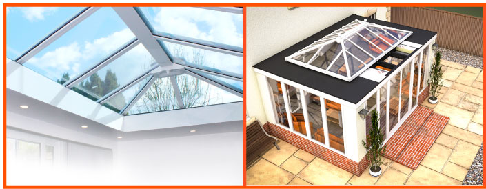 LEKA Warm Conservatory Roofing System St Albans, Hertfordshire - Example Image